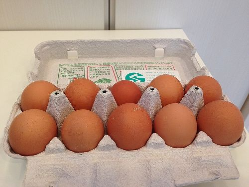 生活クラブの野菜宅配の卵