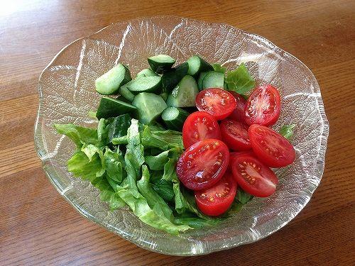 生活クラブの野菜サラダ