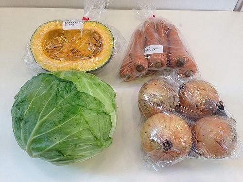 野菜宅配大地を守る会のセット