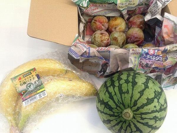 大地を守る会の有機栽培果物