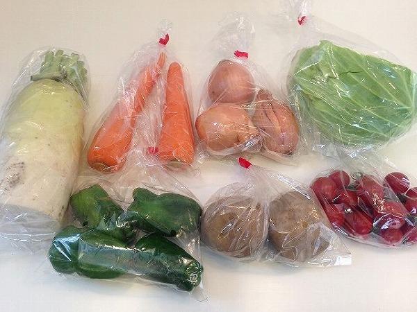 有機野菜全体図