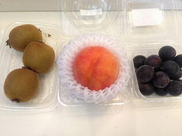 オーガニック果物セット~おいしっくすくらぶ4週目