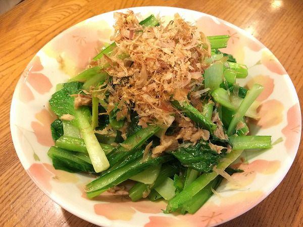 小松菜のツナポン酢~野菜宅配まとめ