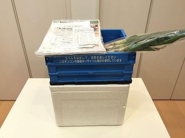 パルシステムの宅配8週目の野菜到着