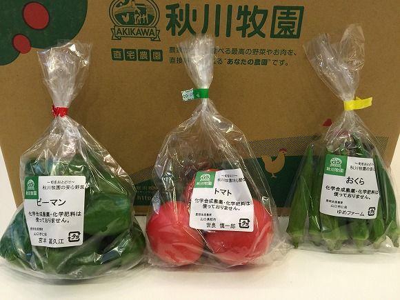 安心野菜Mセット(トマト、オクラ)