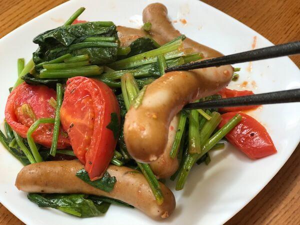 イタリンアン風炒め野菜