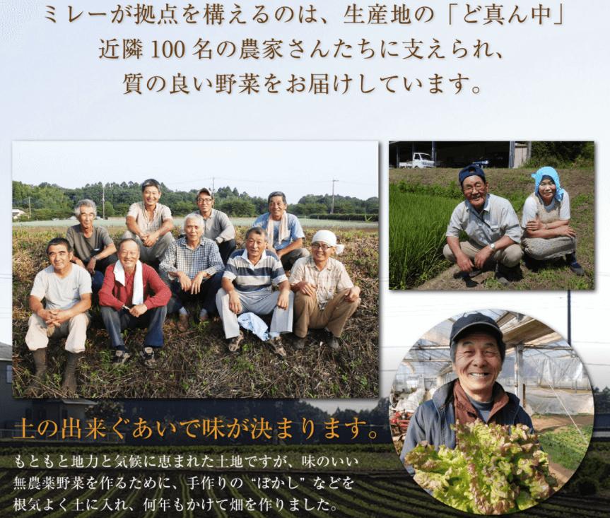 無農薬野菜のミレーメリットデメリット・評判18
