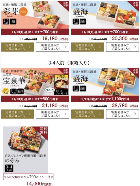野菜宅配・クリスマスケーキ・おせち口コミ・評判14