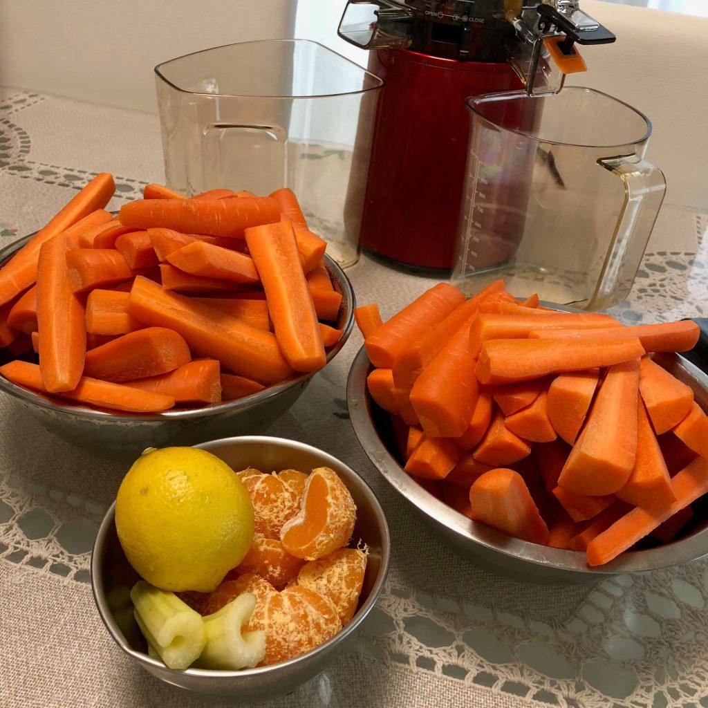 野菜宅配でスムージー・ジュース2
