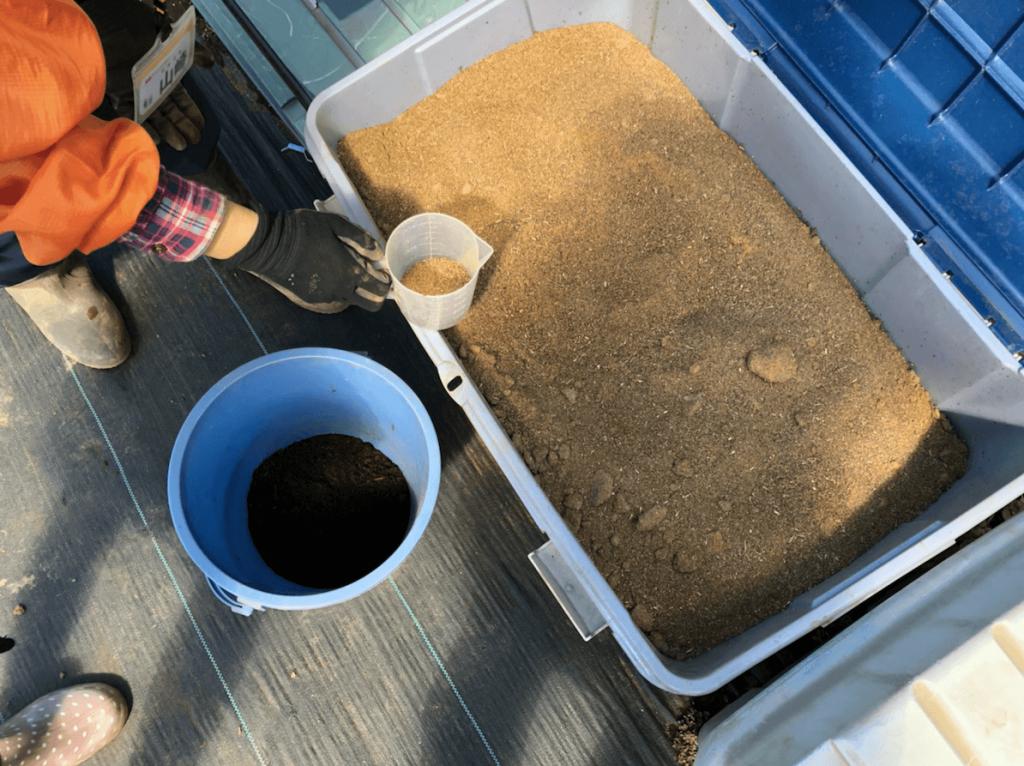 シェア畑・土作り・肥料・ウネの口コミ体験・35