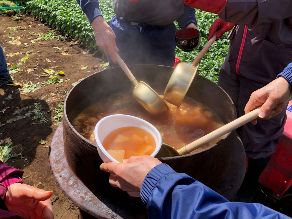 大地を守る会のイベント口コミ体験・大根収穫祭41