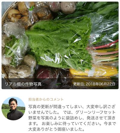 楽天Ragri(ラグリ)定期便野菜セットの口コミ・評判69