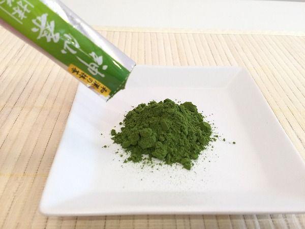 神仙抹茶の粉末