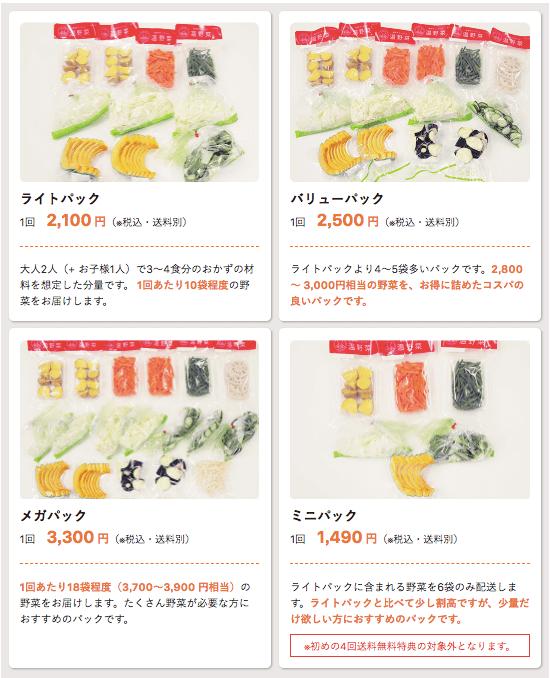 カット野菜宅配イエコックの口コミ・評判・メリット・デメリット7