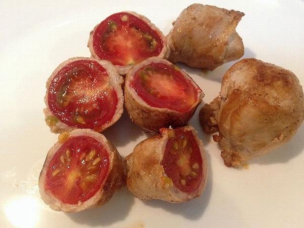 トマトの肉巻き|野菜宅配の大地を守る会