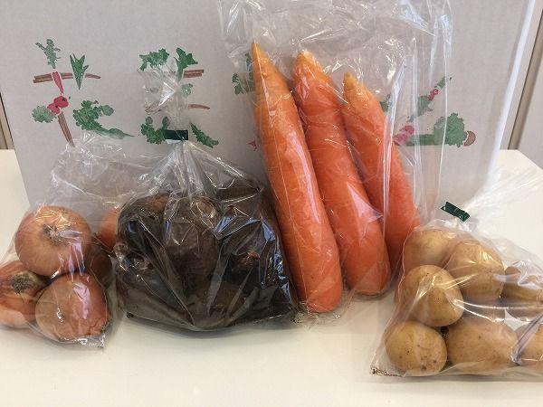 有機JASの根野菜