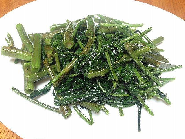 空芯菜の炒め物 | おいこファーム