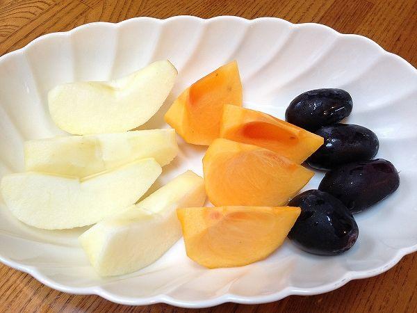 旬の果物(盛り付け)~おいしっくすくらぶ