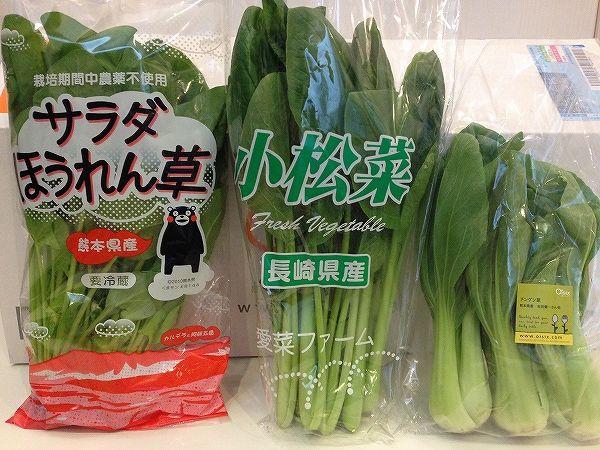 Oisix(オイシックス)九州の葉物野菜~野菜宅配まとめ
