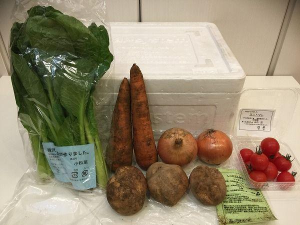 パルシステム初めてセット全体図~野菜宅配まとめ