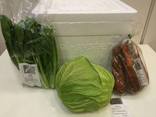 パルシステムの産直野菜全体図