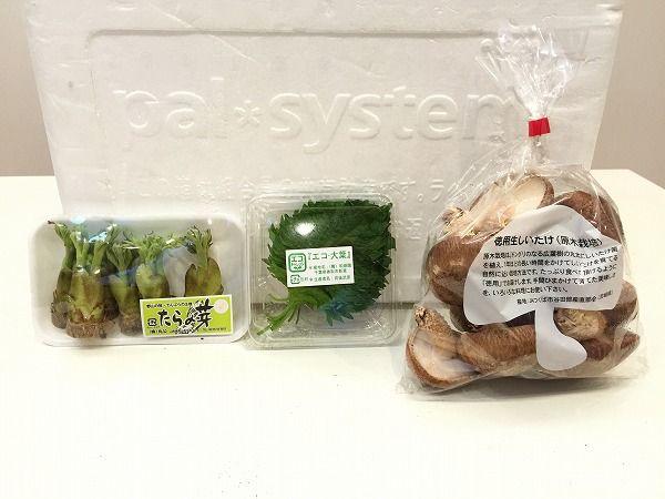 てんぷら用の野菜