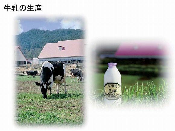牛乳の生産