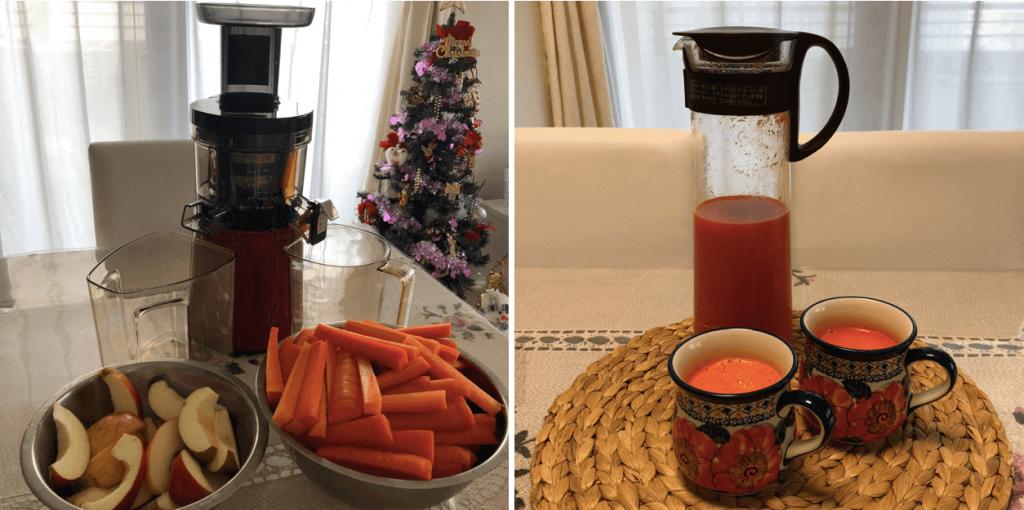 野菜宅配・管理人プロフィール、野菜ジュース