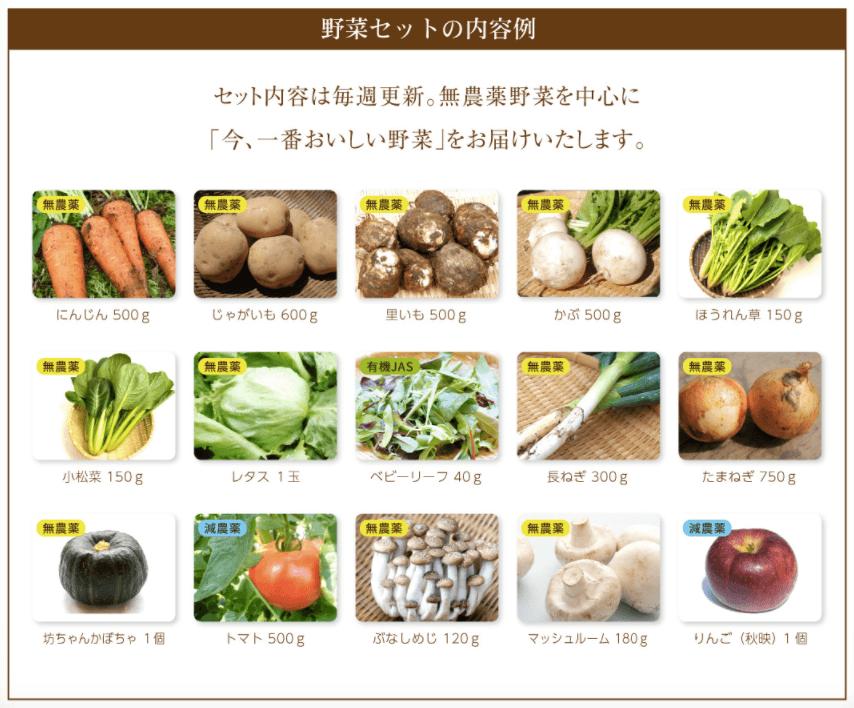 無農薬野菜のミレーメリットデメリット・評判12