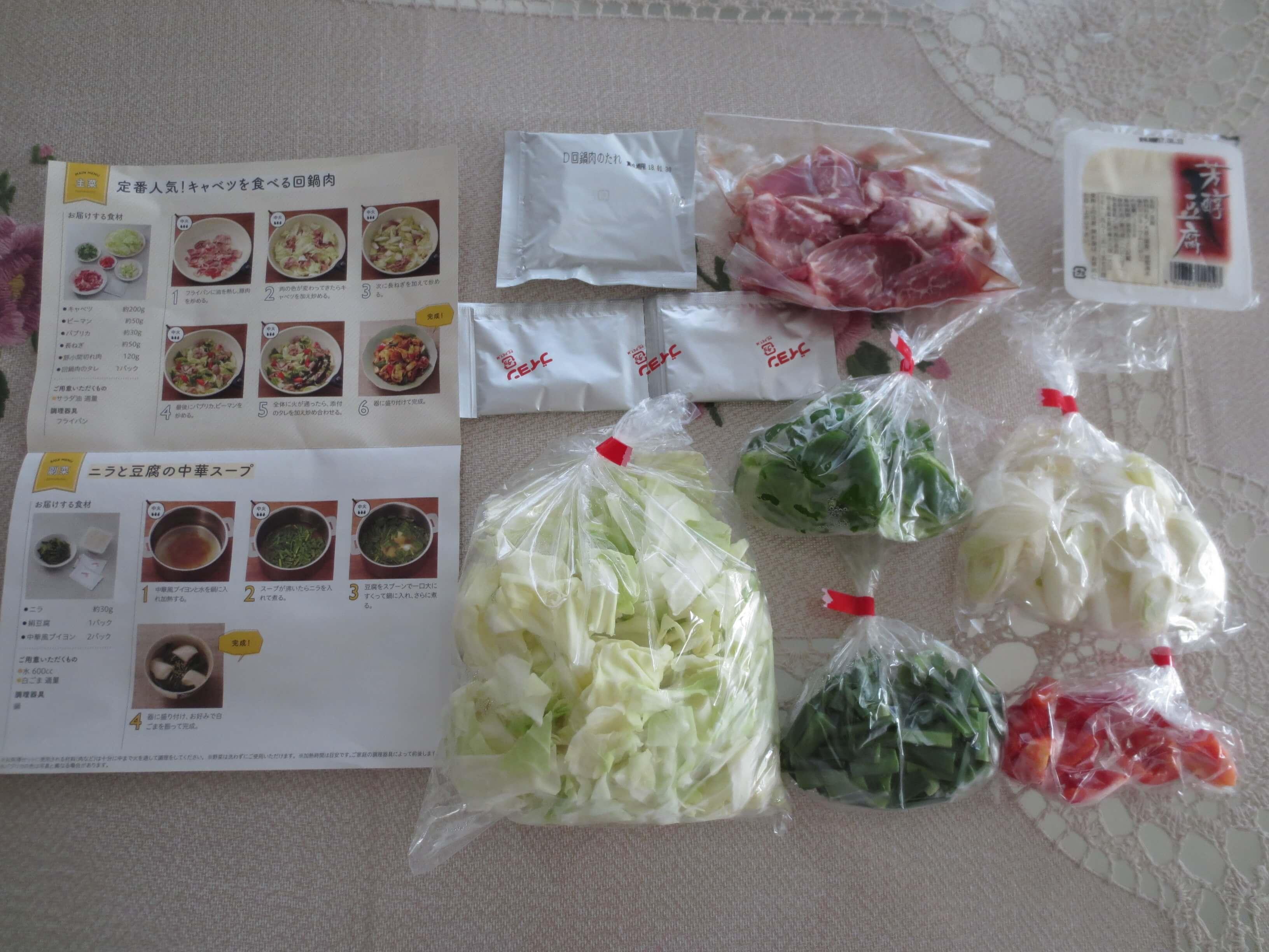 野菜宅配時短キットランキング23