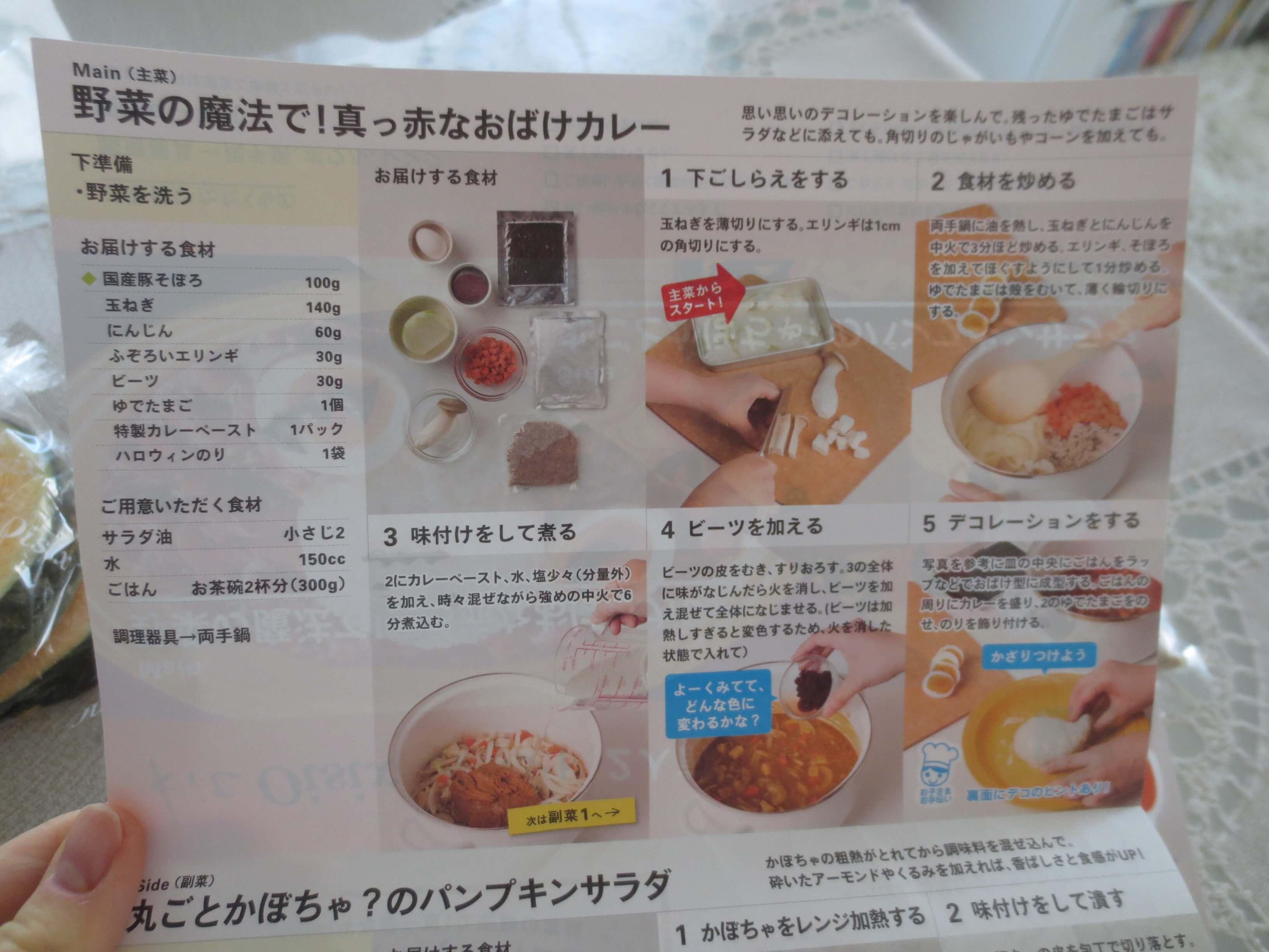キットオイシックス・ハロウィン口コミ・評判4