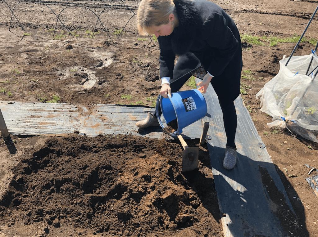 シェア畑・土作り・肥料・ウネの口コミ体験・5
