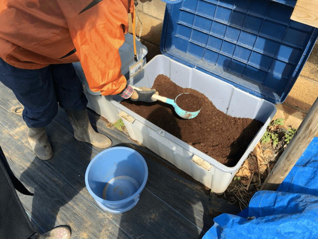 シェア畑・土作り・肥料・ウネの口コミ体験・34