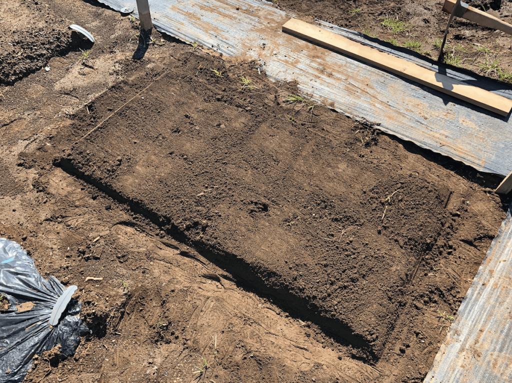 シェア畑・土作り・肥料・ウネの口コミ体験・15