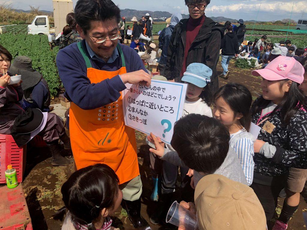 大地を守る会のイベント口コミ体験・大根収穫祭46
