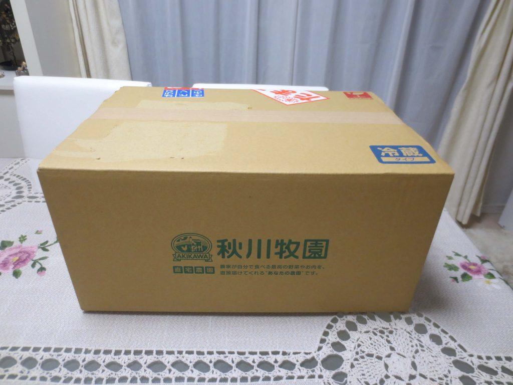 秋川牧園の定期便・口コミ・評判1