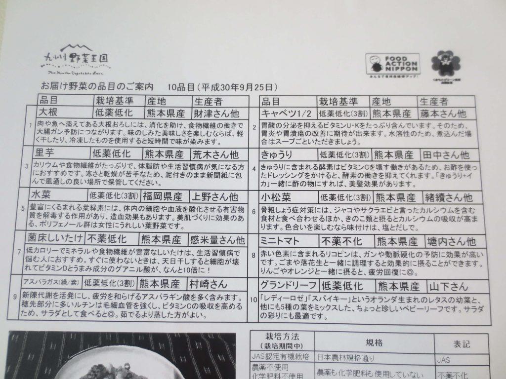 九州野菜王国の口コミ・比較ランキング・お試しセット体験談51