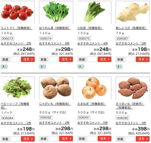 野菜宅配・コープデリの口コミ・評判・体験談4
