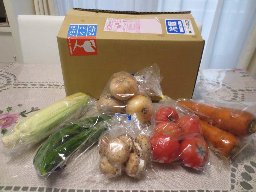 野菜宅配サービス比較ランキング・オーガニックベジタブルCAの口コミ
