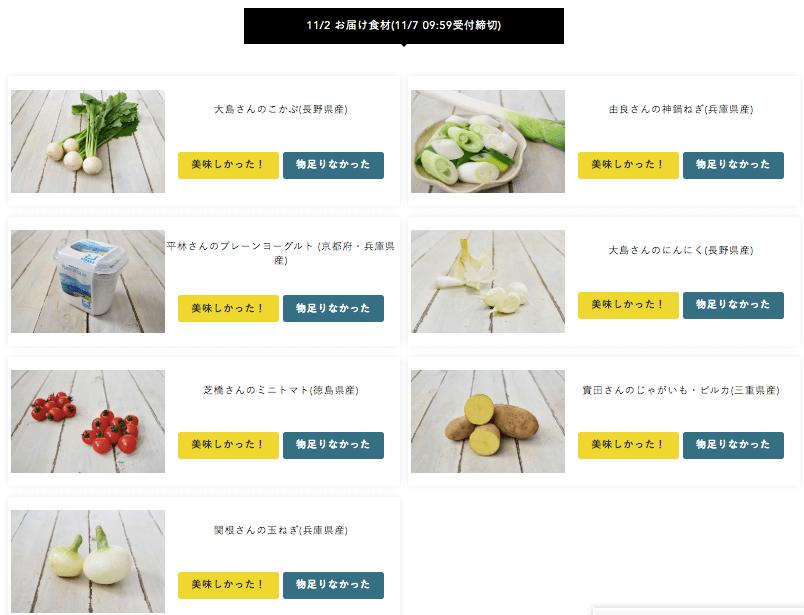 有機野菜・無農薬野菜宅配のココノミの定期便の口コミ6