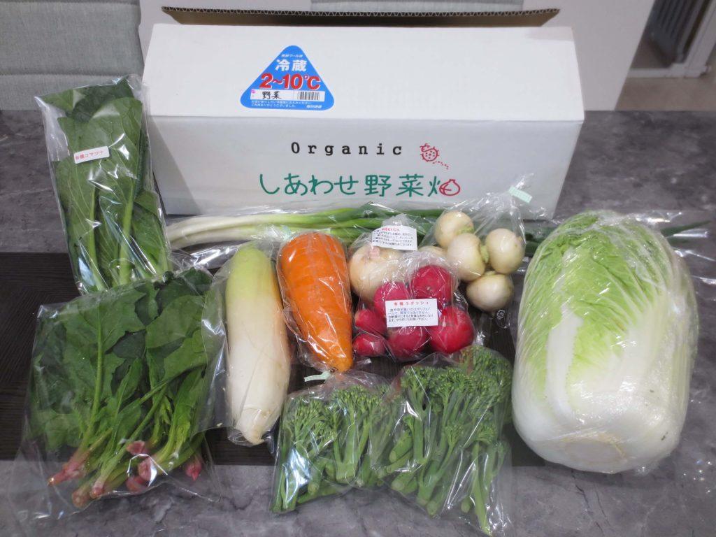 静岡県掛川市の有機野菜宅配しあわせ野菜畑の口コミ31