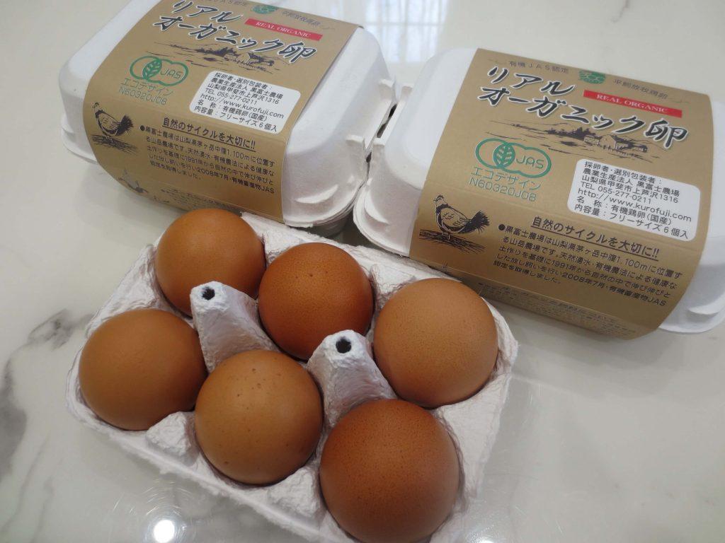 黒富士農場の平飼い卵リアルオーガニック卵の口コミ・評判44