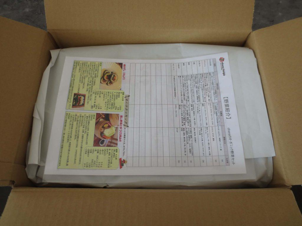 大分臼杵市の無農薬野菜ohana本舗の野菜セット2