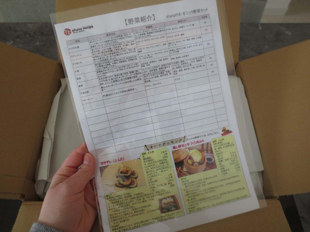 大分臼杵市の無農薬野菜ohana本舗の野菜セット3