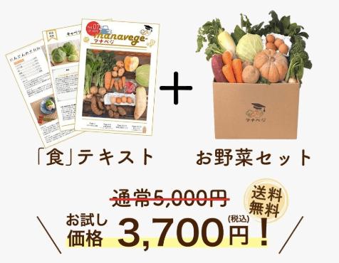 学習型無農薬野菜宅配manavegeマナベジの口コミと評判11