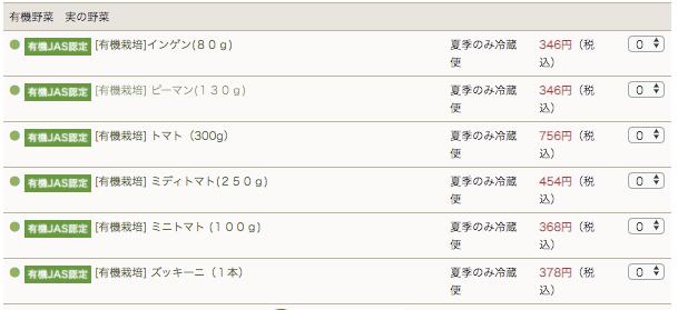 ぶどうの木の口コミ・評価、おすすめの有機野菜7