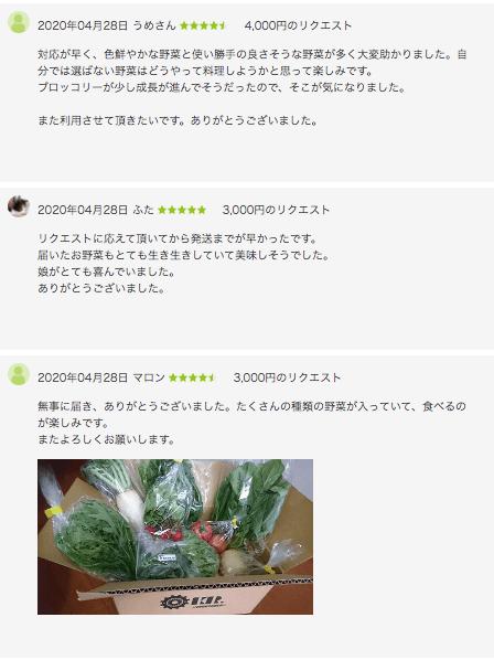 ゴヒイキの口コミ・評判・体験23