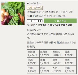 有機・オーガニック食材通販「たべるとくらすと」の評判口コミ19