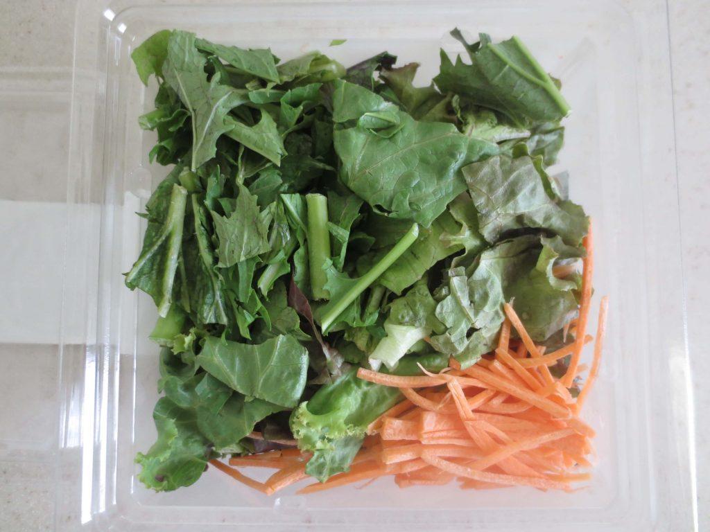 楽天ファームの有機野菜セットとサラダ定期便をお試し91