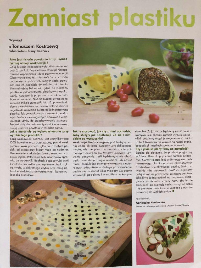再利用・リサイクル可な食品ラップ「Woskowijki」(ヴォスコヴィイキ)15